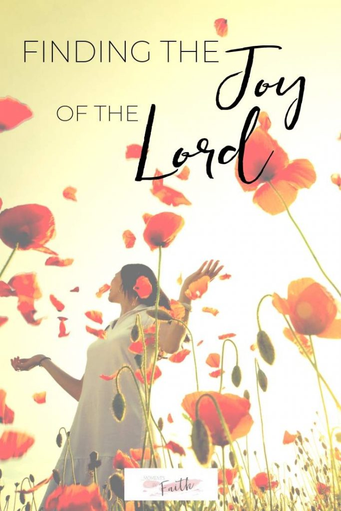 Finding the Joy of the Lord